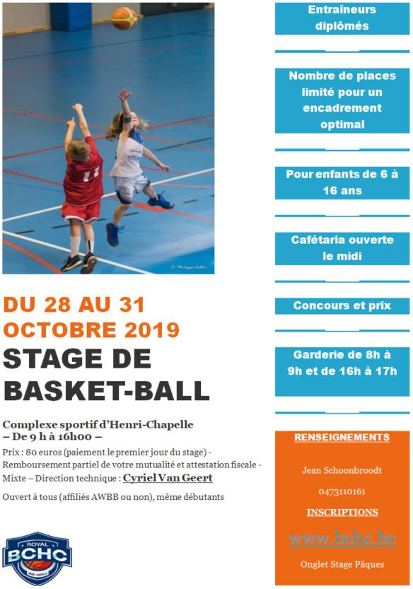 1c0706a9595e Royal Basket Club Henri-Chapelle - Résultats du week-end - Brèves ...